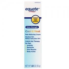 equate Extra Strength frío y calor para aliviar el dolor Cream 125 oz