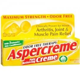 Aspercreme libre de olores thearpy Crema para aliviar el dolor 125 Oz