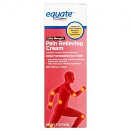 equate Ultra Fuerza para aliviar el dolor Cream 4 oz