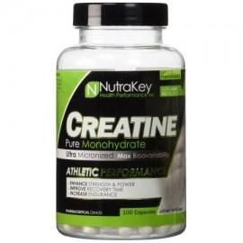 Nutrakey monohidrato de creatina - 100 Cápsulas