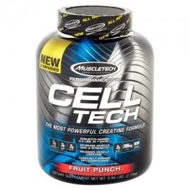 MuscleTech Cell Tech creatina Fórmula ponche de frutas 6.0 LB