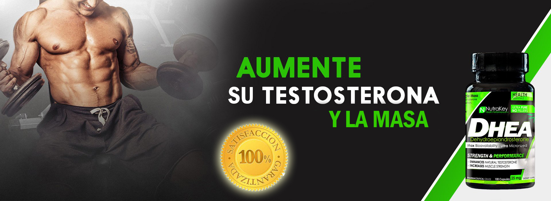 VENTA DE DHEA NUTRAKEY EN ESPAÑA AL MEJOR PRECIO